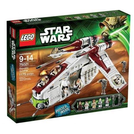 LEGO STAR WARS 75021 - Válečná loď Republiky