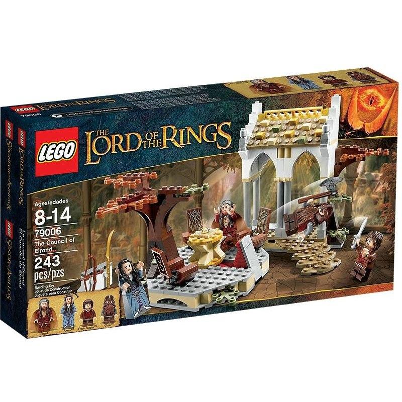 LEGO PÁN PRSTENŮ 79006 - Koncil u Elronda