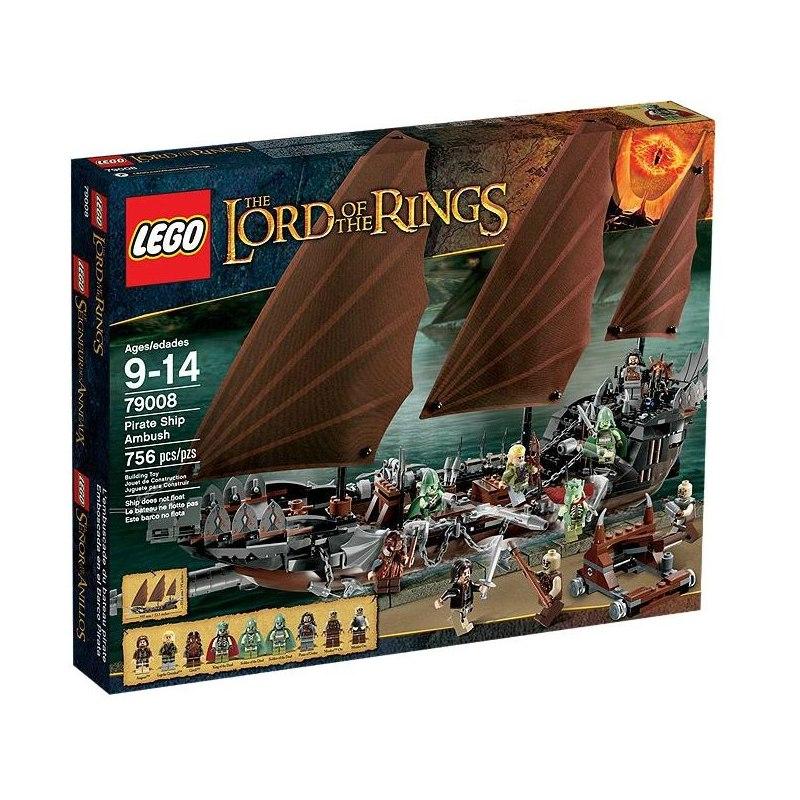 LEGO PÁN PRSTENŮ 79008 - Přepadení pirátů
