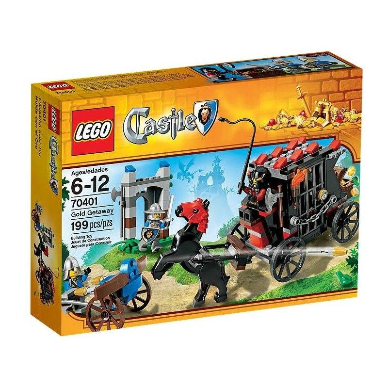 LEGO CASTLE 70401 - Uloupený zlatý poklad