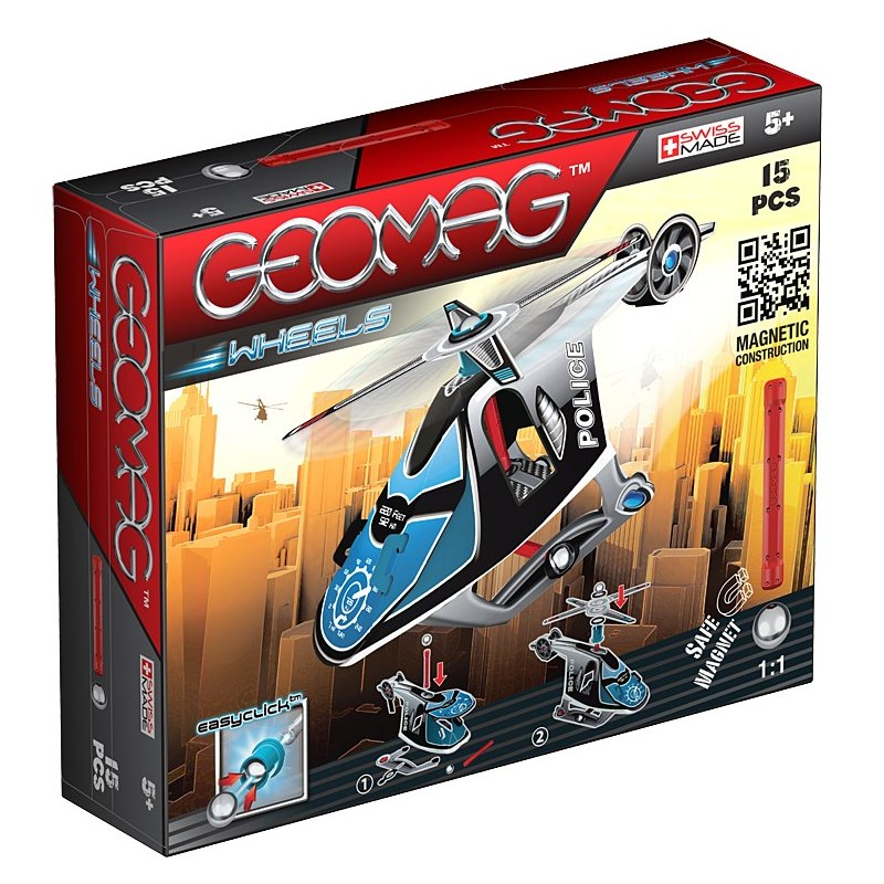 Geomag WHEELS Helicopter