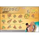 Geomag Glitter 44
