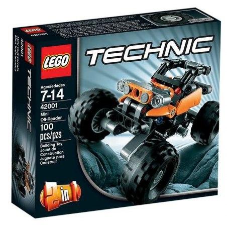LEGO TECHNIC 42001 - Mini terénní vůz