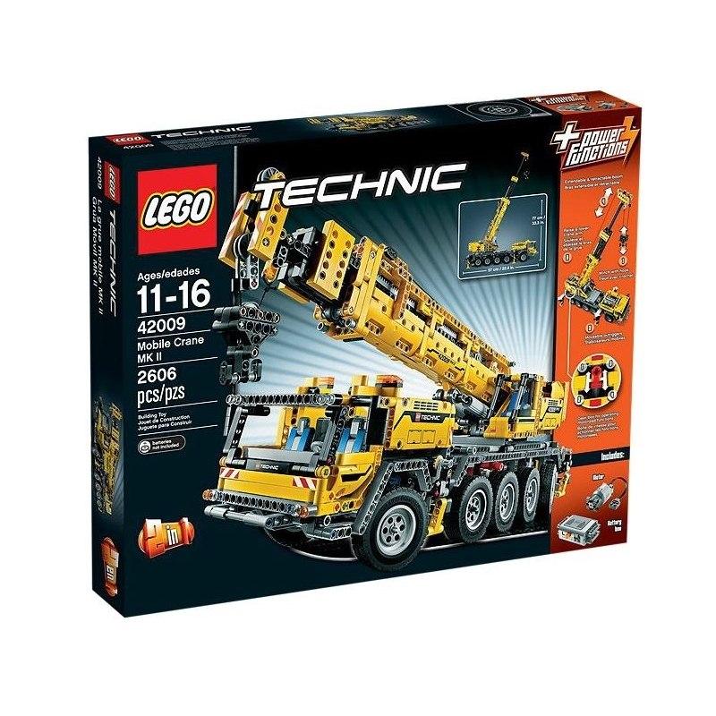 LEGO TECHNIC 42009 - Mobilní jeřáb MK II