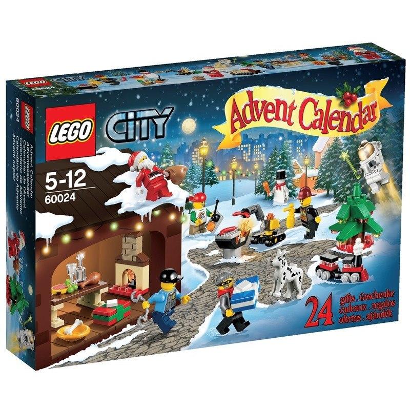 LEGO CITY 60024 - Adventní kalendář