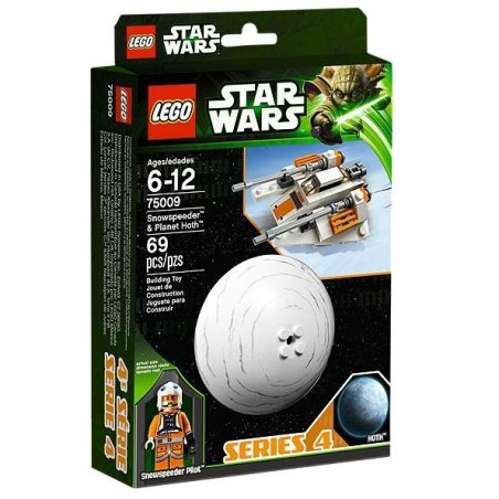 LEGO STAR WARS 75009 - Snowspeeder a Planet Hoth