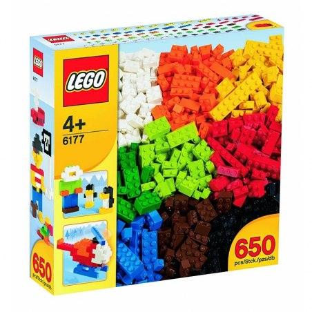 LEGO Kostičky - Základní kostky - sada Deluxe 6177