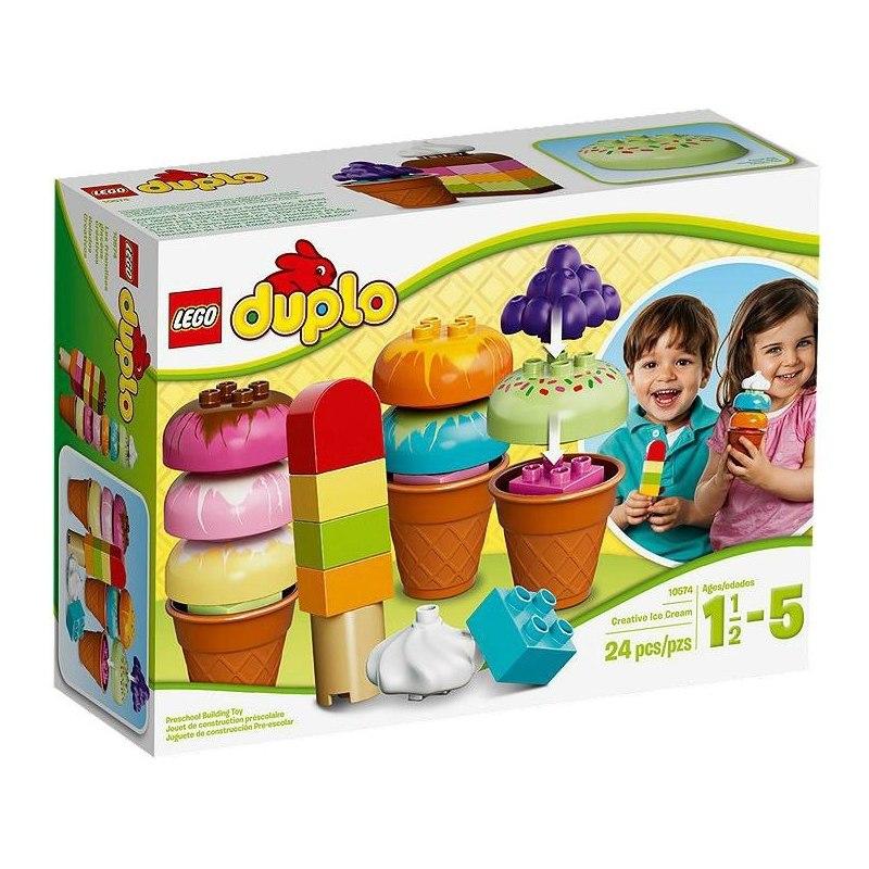 LEGO DUPLO 10574 - Postav si zmrzlinu