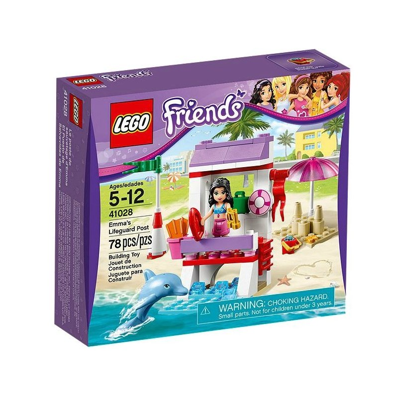 LEGO FRIENDS 41028 - Ema a věž pobřežní hlídky
