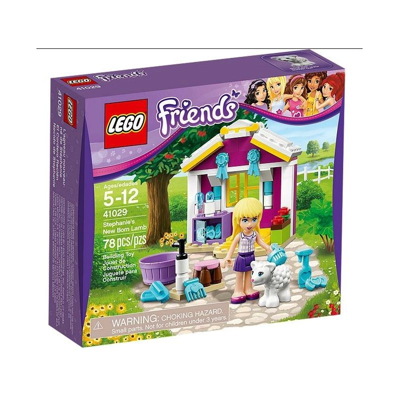 LEGO FRIENDS 41029 - Malé jehňátko Stephanie