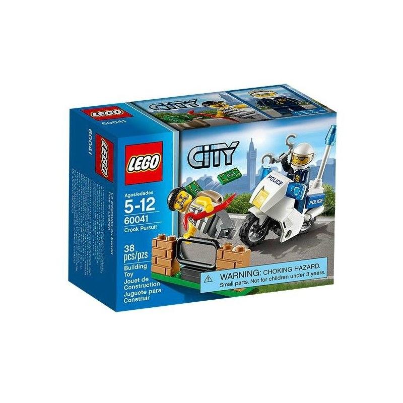 LEGO CITY 60041 - Pronásledování zločinců