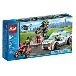 LEGO CITY 60042 - Rychlá policejní honička