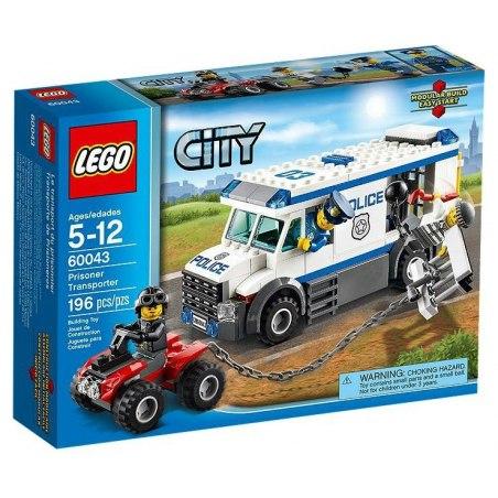 LEGO CITY 60043 - Vězeňský transport