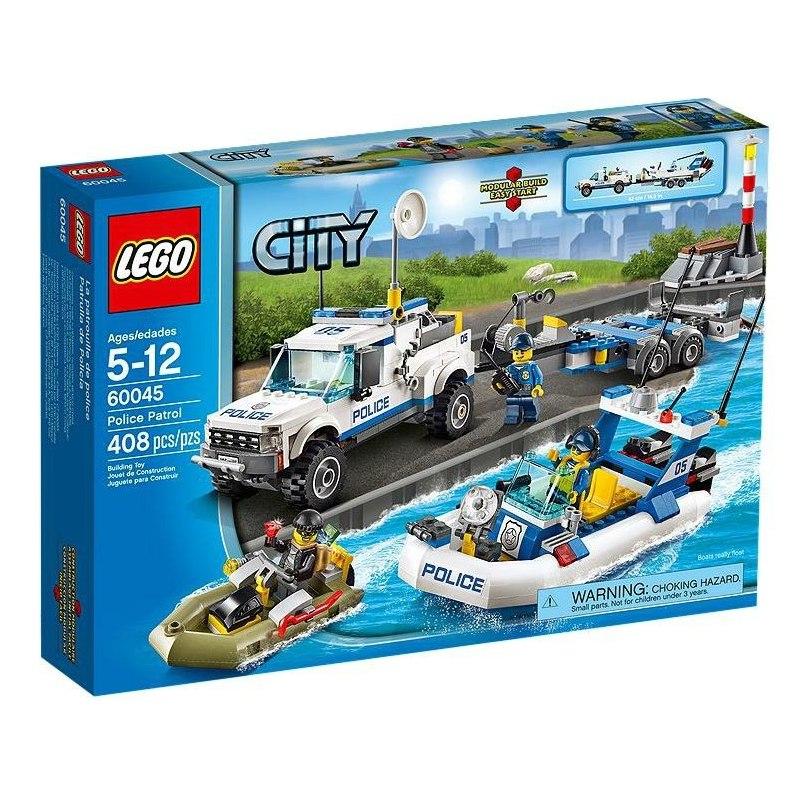 LEGO CITY 60045 - Policejní hlídka