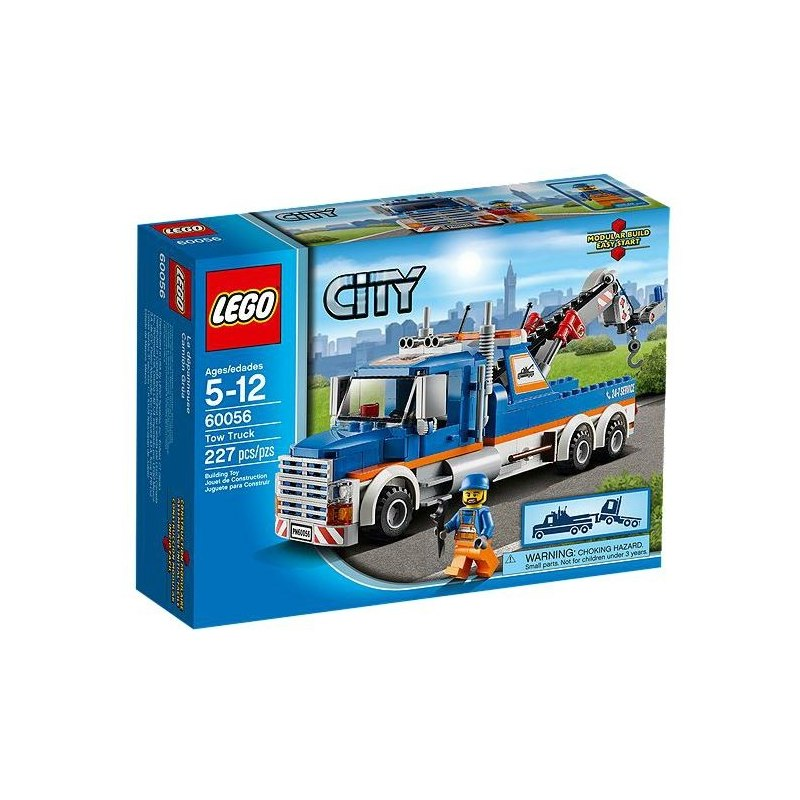 LEGO CITY 60056 - Odtahový vůz