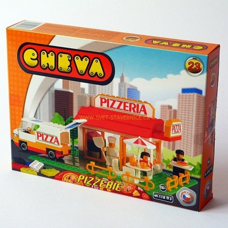 Cheva 23 - Pizzerie Stavebnice