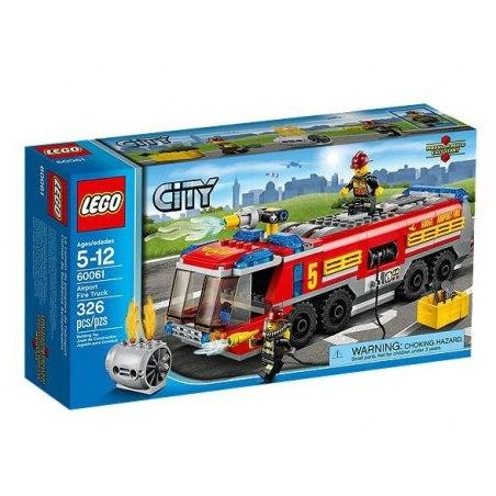 LEGO CITY 60061 - Letištní hasičské auto