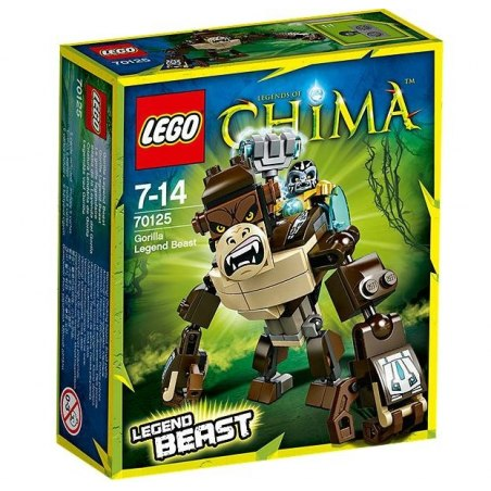 LEGO CHIMA 70125 - Gorila - Šelma Legendy
