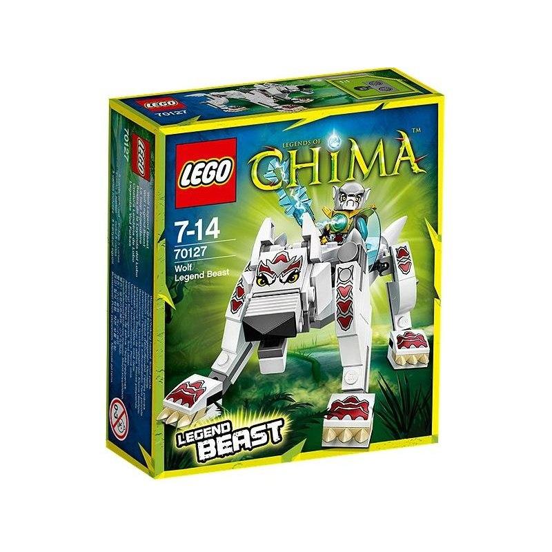 LEGO CHIMA 70127 - Vlk - Šelma Legendy