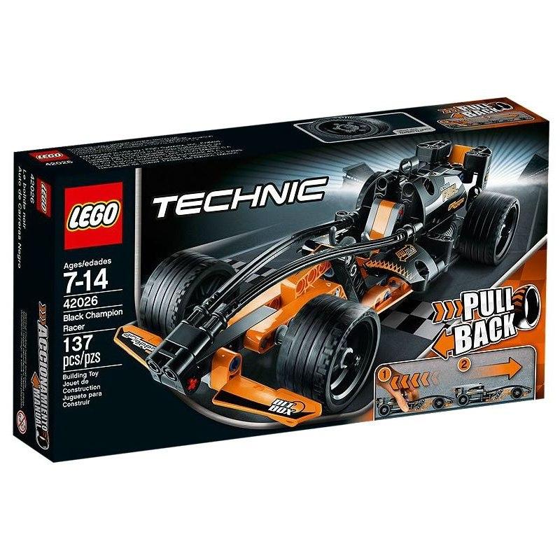 LEGO TECHNIC 42026 - Černý šampión
