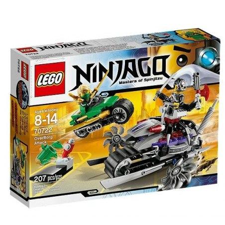 LEGO Ninjago 70722 - OverBorgův útok