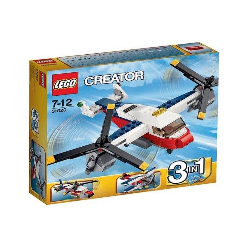 LEGO Creator 31020 - Dobrodružství se dvěma vrtulemi