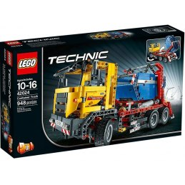 LEGO Technic 42024 - Nákladní vůz s kontejnerem