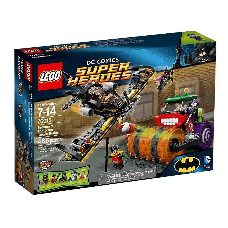 LEGO Super Heroes 76013 - Batman - Jokerův parní válec