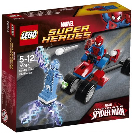LEGO Super Heroes 76014 - Spider-Trike vs. Electro
