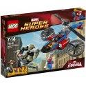 LEGO Super Heroes 76016 - Pavoučí záchranný vrtulník