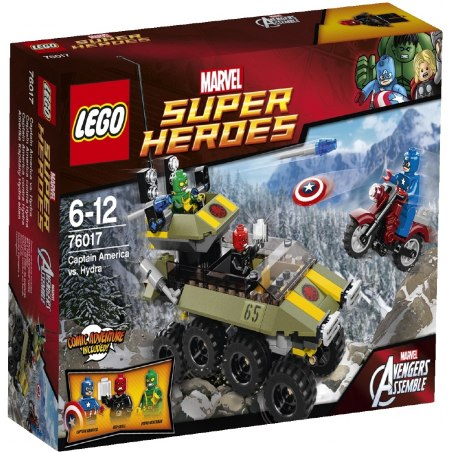 LEGO Super Heroes 76017 - Captain America vs. Hydra