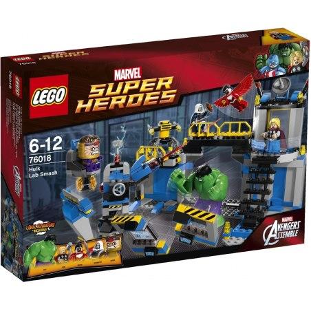 LEGO Super Heroes 76018 - Hulk Rozbití laboratoře