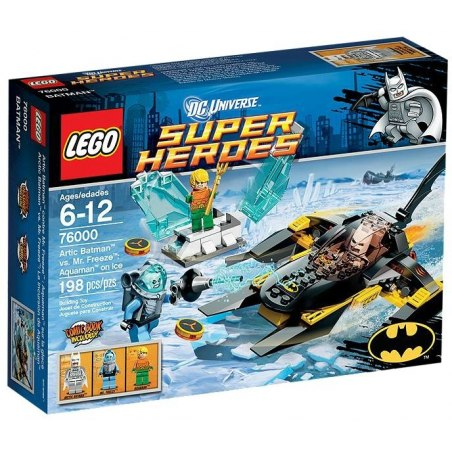 LEGO Super Heroes 76000 - Arktický Batman vs. Mr. Freeze - Aquaman na ledě