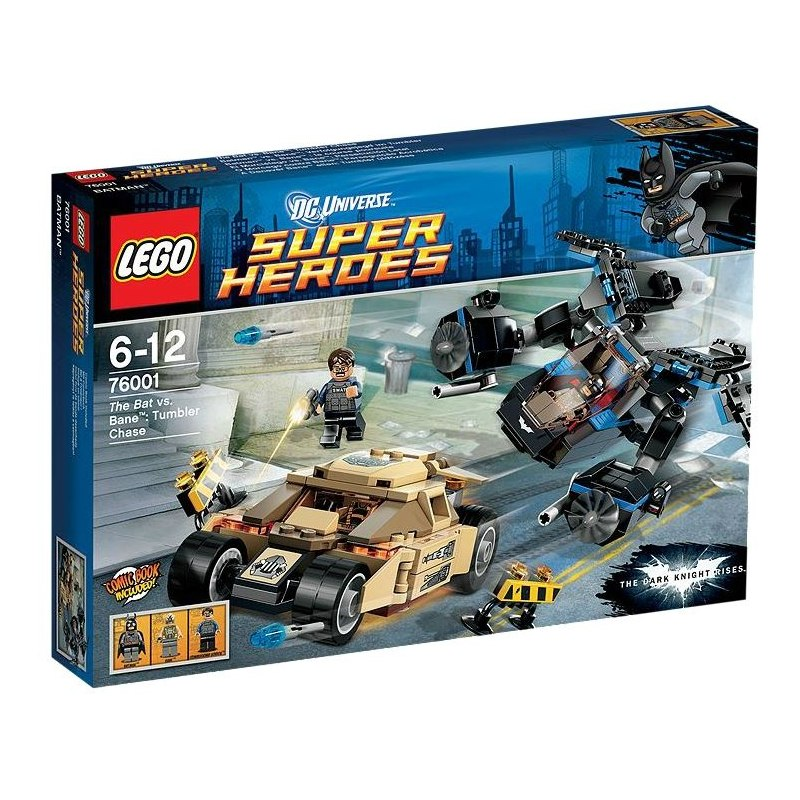 LEGO Super Heroes 76001 - The Bat vs. Bane - Krkolomná honička
