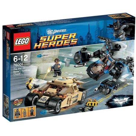 LEGO Super Heroes 76001 - The Bat vs. Bane - Krkolomná honička