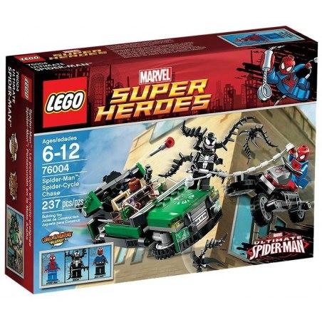 LEGO Super Heroes 76004 - Spider-Man - Honička na motorce