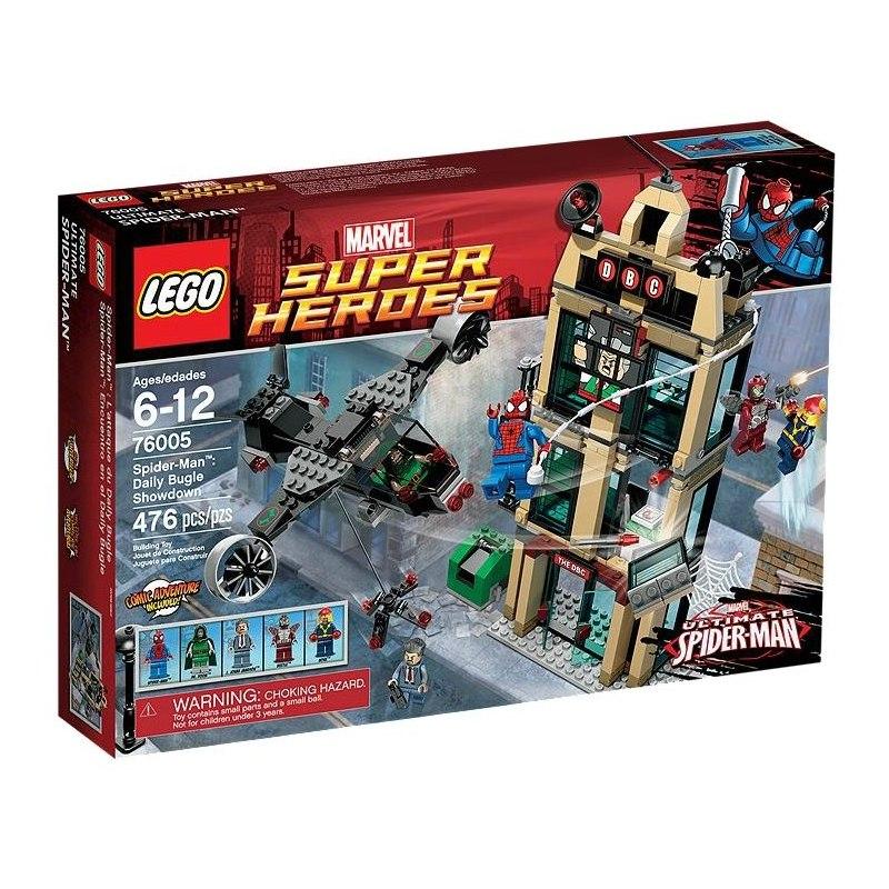 LEGO Super Heroes 76005 - Spider-Man - Zúčtování Daily Bugle