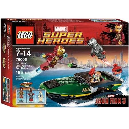 LEGO Super Heroes 76006 - Iron Man - Námořní bitva Extremis
