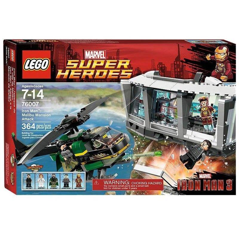 LEGO Super Heroes 76007 - Iron Man - Útok v Malibu