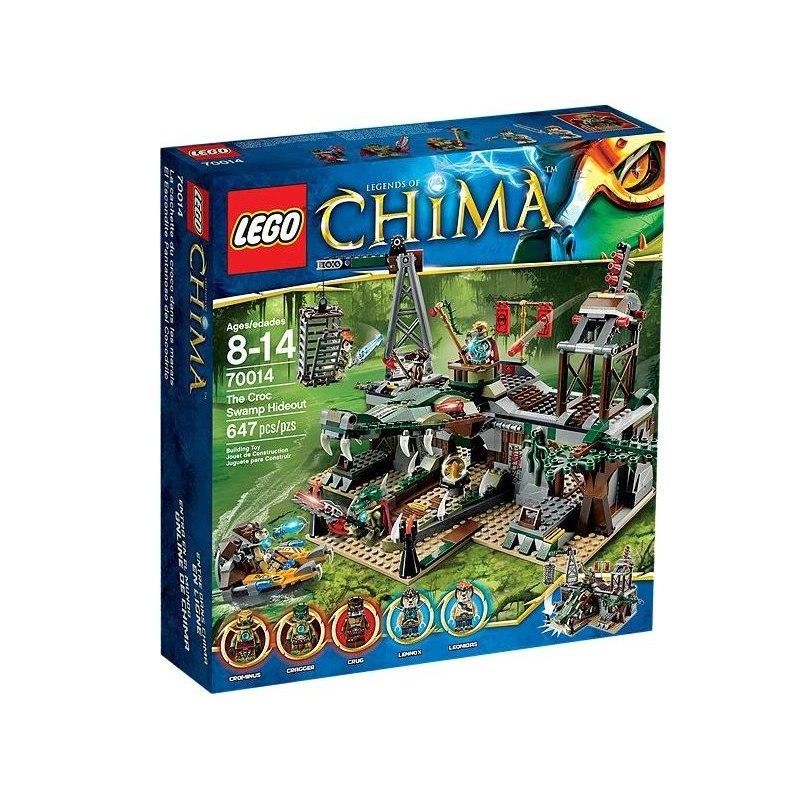 LEGO CHIMA 70014 - Crocova skrýš v bažině
