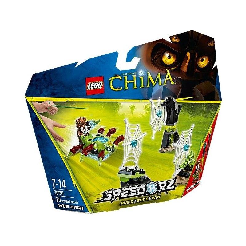 LEGO CHIMA 70138 - Pavučinový útěk