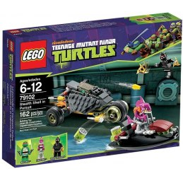 LEGO Želvy Ninja 79102 - Maskované pronásledování