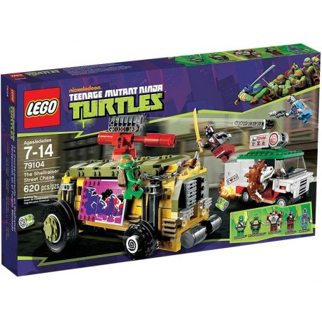LEGO Želvy Ninja 79104 - Želví pouliční honička