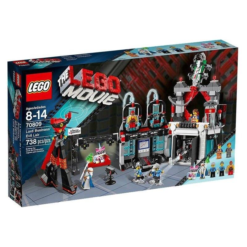 LEGO MOVIE 70809 - Doupě zla Lorda Byznyse