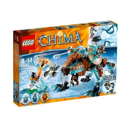 LEGO CHIMA 70143 - Šavlozubý robot sira Fangara