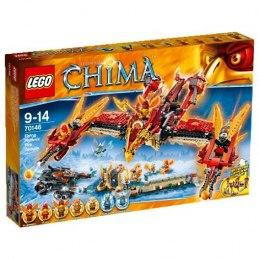 LEGO CHIMA 70146 - Létající ohnivý chrám Fénix