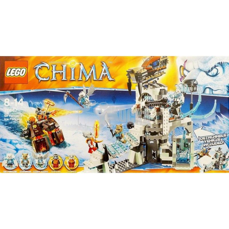 LEGO CHIMA 70147 - Ledová pevnost sira Fangara