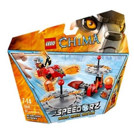 LEGO CHIMA 70149 - Žhnoucí čepele