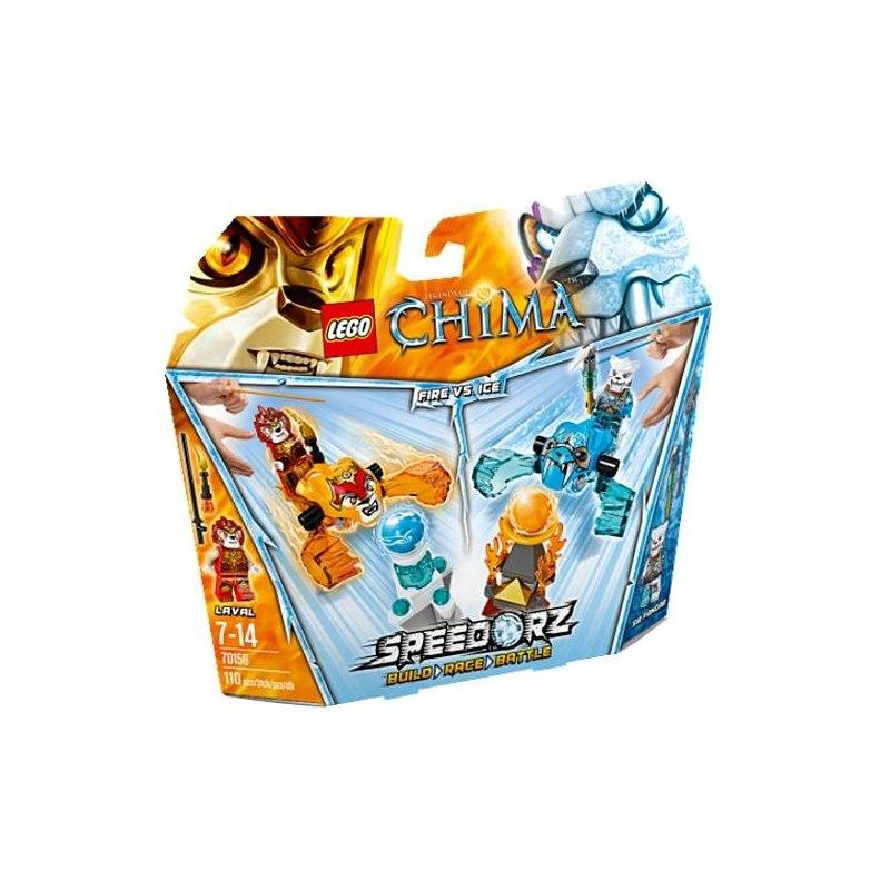 LEGO CHIMA 70156 - Oheň versus led