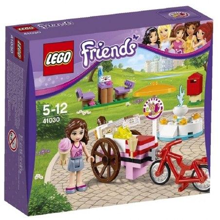 LEGO Friends 41030 - Olivia a zmrzlinářské kolo